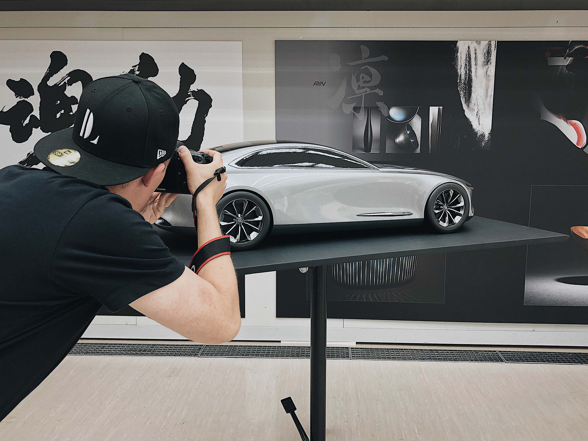 Backstage - Mazda Design Zentrum 1