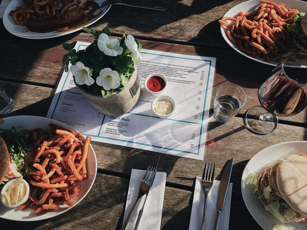 Sylt Insel - Dinner - Pottkieker Burger