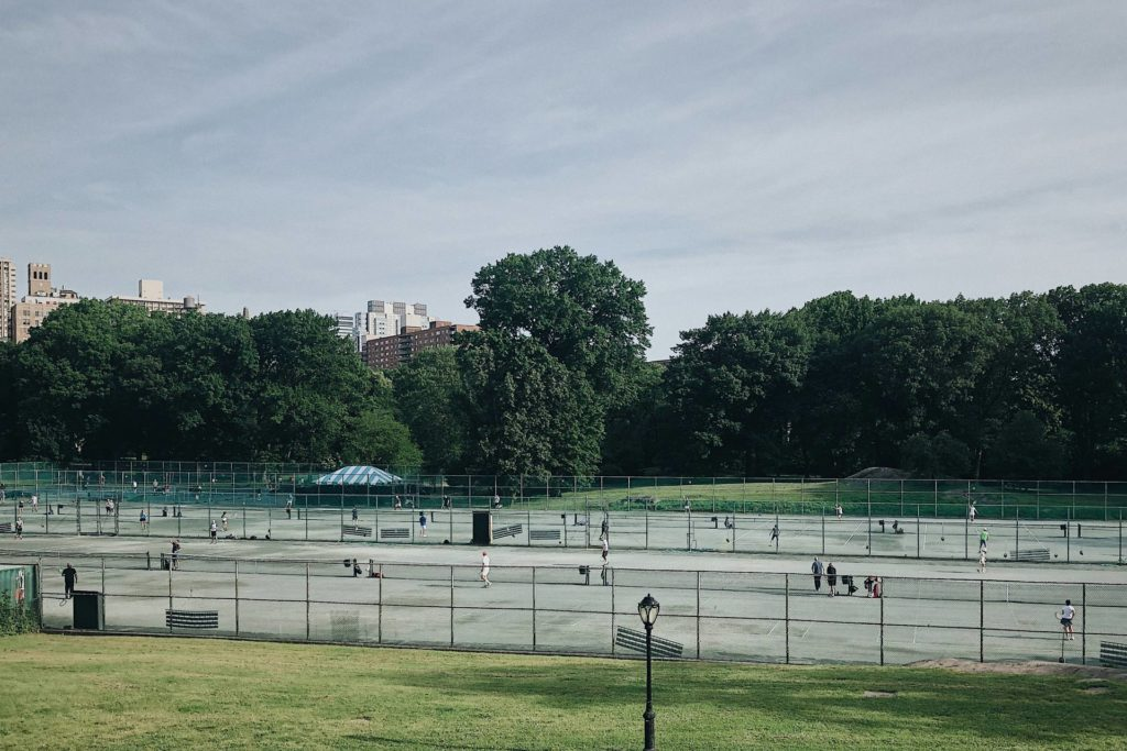 New York - Central Park - Tennisplatz